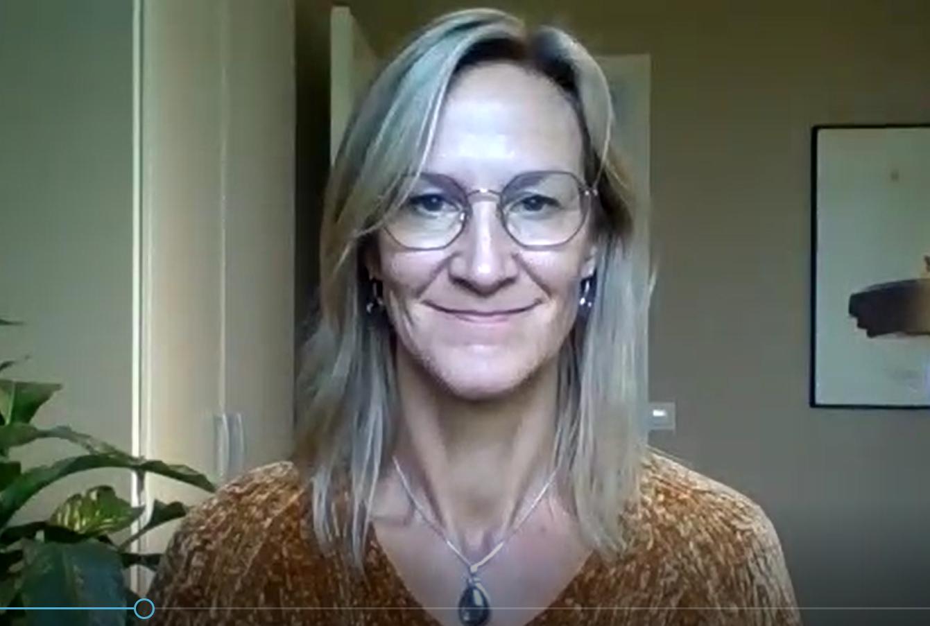 Videosamtal med Eva